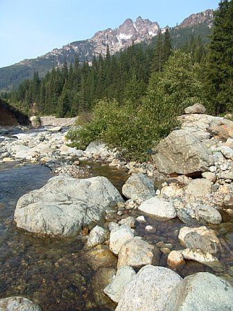 The Sierra Buttes and North Yuba River